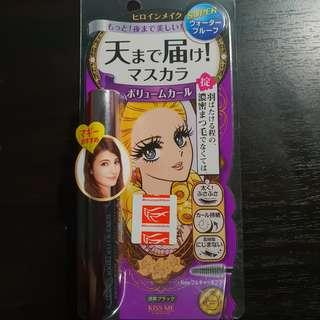 Japan Isehan Kiss Me Heroine Volume Curl Mascara [01 Deep Black]