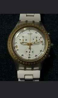 Swatch irony stainless steall