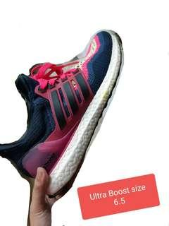 Ultra Boost V2  Blue Pink Apple