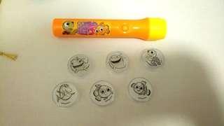 小朋友大愛 Nemo公仔電筒