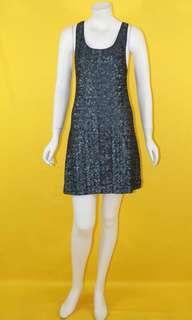 Alice + Olivia Sequined sleeveless dress