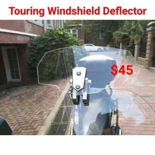 Touring Windshield Deflector