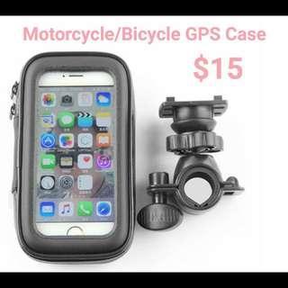 Motorcycle/Bicycle Waterproof Phone/GPS Case & Holder