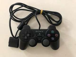 Sony PlayStation 2 PS2 Black Dual Shock Controller