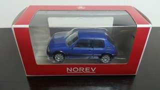 Norev Peugeot 205 GTi Blue