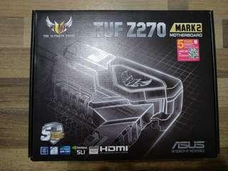 Asus Z270 TUF Mark 2 Motherboard (With 5 Years Extended Local Warranty)