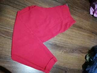 Forever 21 pink high waist pants