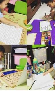 Affordable and Engaging preschool tuition and learning sessions - n1 n2 k1 k2 tutor