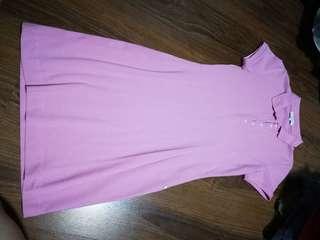Bayo Pink Polo Dress