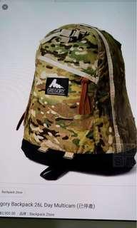 Gregory Daypack E1258 22L