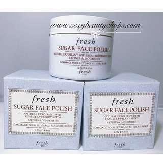 【包郵】Fresh Sugar Face Polish 黃糖滋潤亮采面膜 125g
