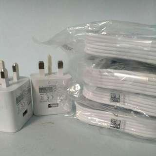 Samsung Fast Charging Charger Plug or MicroUSB Cable 1.5M