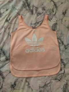 Adidas tank top size m