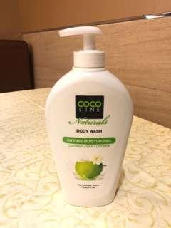 Cocoline Naturals Intense Moisturizing Body Wash