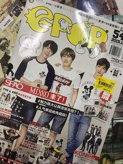 KPOP Magazine with Poster