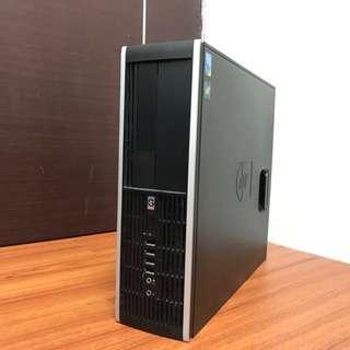 含銀幕 主機 HP 8000 Elite SFF Q9400四核 桌電 電腦 桌上型 文書
