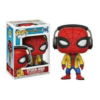 Spiderman Homecoming: Spider man with Headphones Funko Pop