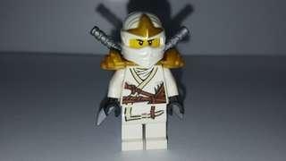 Ninjago 白色忍者 Lego 人仔
