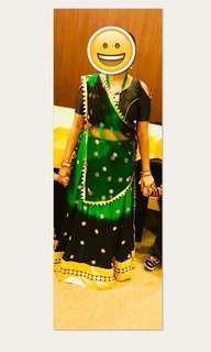 Indian lehenga saree