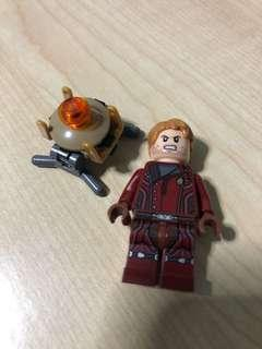 LEGO Star lord Guardians of the galaxy Super hero marvel