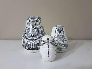 A Set of Nesting Jars