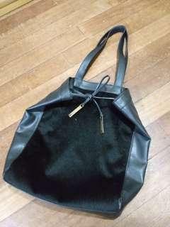 Charles & Keith Faux Fur Bag