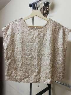 052 MNG Mango Sequined Top