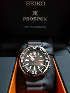 Authentic SEIKO X PROSPEX LIMITED EDITION. ROSE GOLD.Price Revised For Fast Deal!