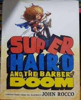 Super Hair-o and the Barber of Doom hardcover