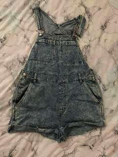 urban outfitters overalls roper size m