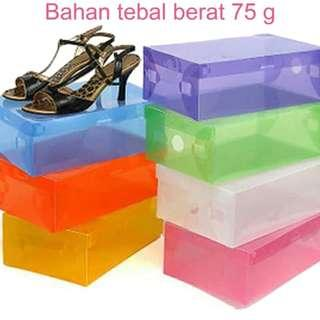 Box Kotak Sepatu Sandal Transparant Plastik -5FIRT0023