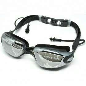 Kacamata renang dgn penutup telinga