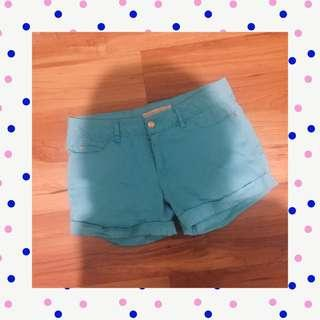 Blue hotpants