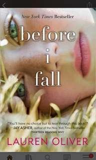 EBOOK before i fall by lauren oliver