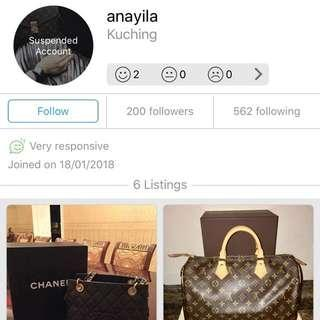 This Bag Scammer