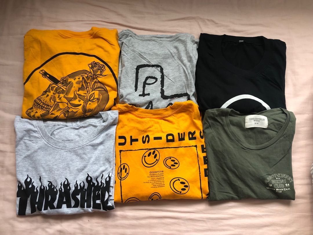 f47f9c279 $5 T-Shirt for Grab!!, Women's Fashion, Clothes, Tops on Carousell
