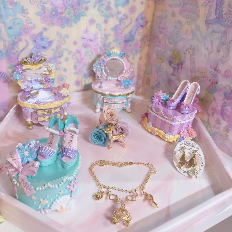 [日本新貨]迪士尼公主系列小型飾物盒