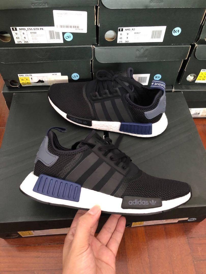 b5b250947 🔥 SALE 🔥NMD R1 jd black blue grey Adidas