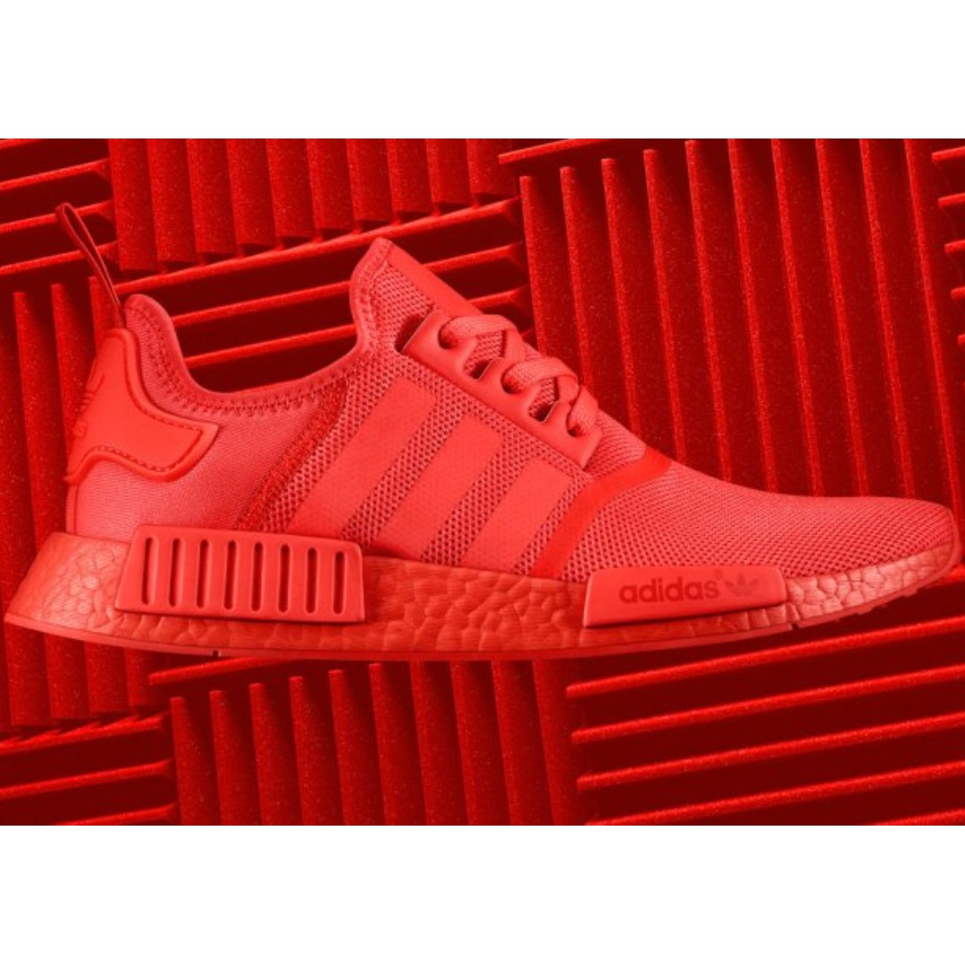 53bb811ec Adidas NMD R1 Solar Red