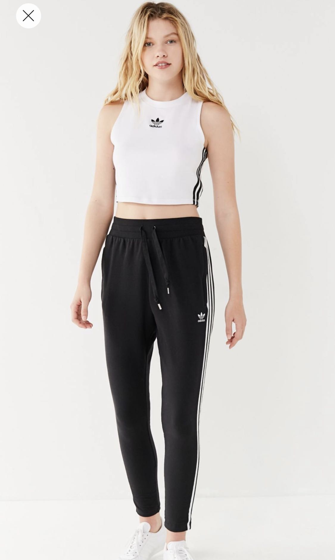 bdec697d769443 Adidas originals cropped tank top