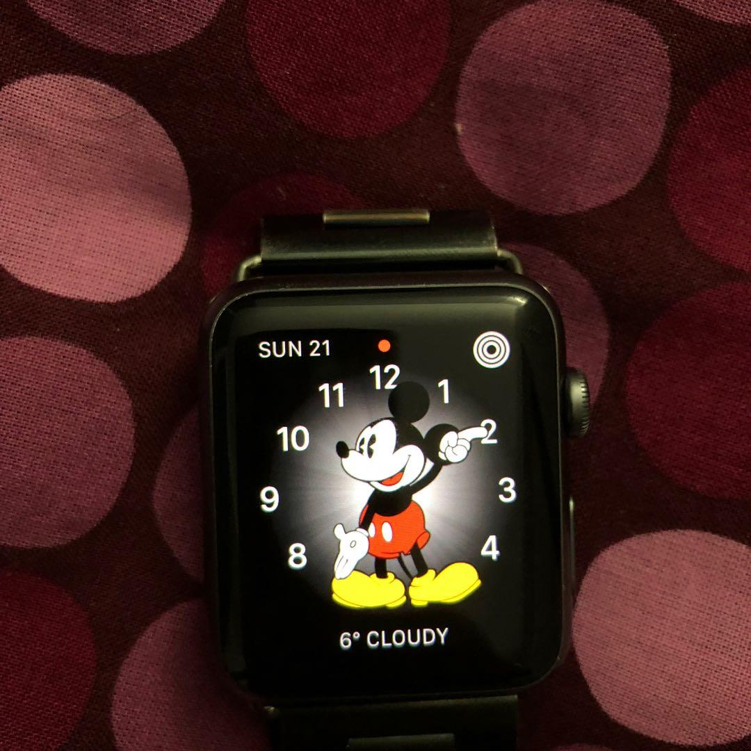 Apple Watch 42mm space grey aluminium