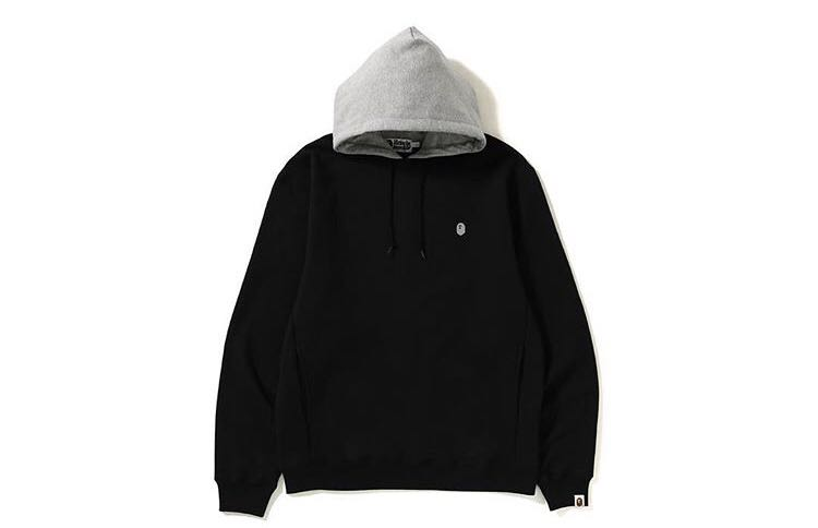 8690fbcd2bbb Bape relax silhouette fake hood pullover hoodie