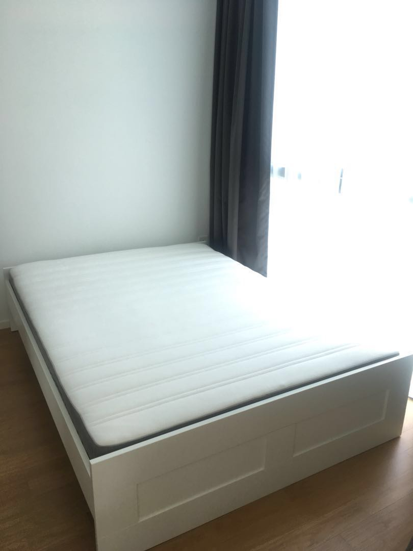 Tienerbed Incl Matras.Bed Incl Mattress And Slatted Bed Base Furniture Beds