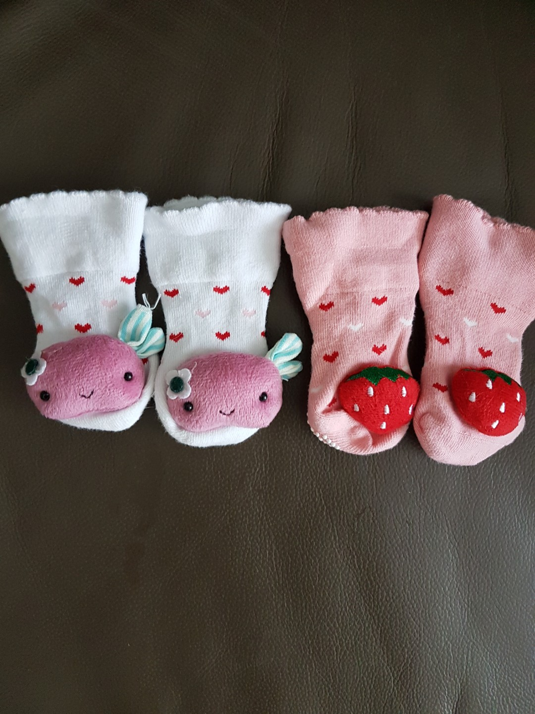 0393026adc BN Baby socks with cute design x 2, Babies & Kids, Babies Apparel on ...