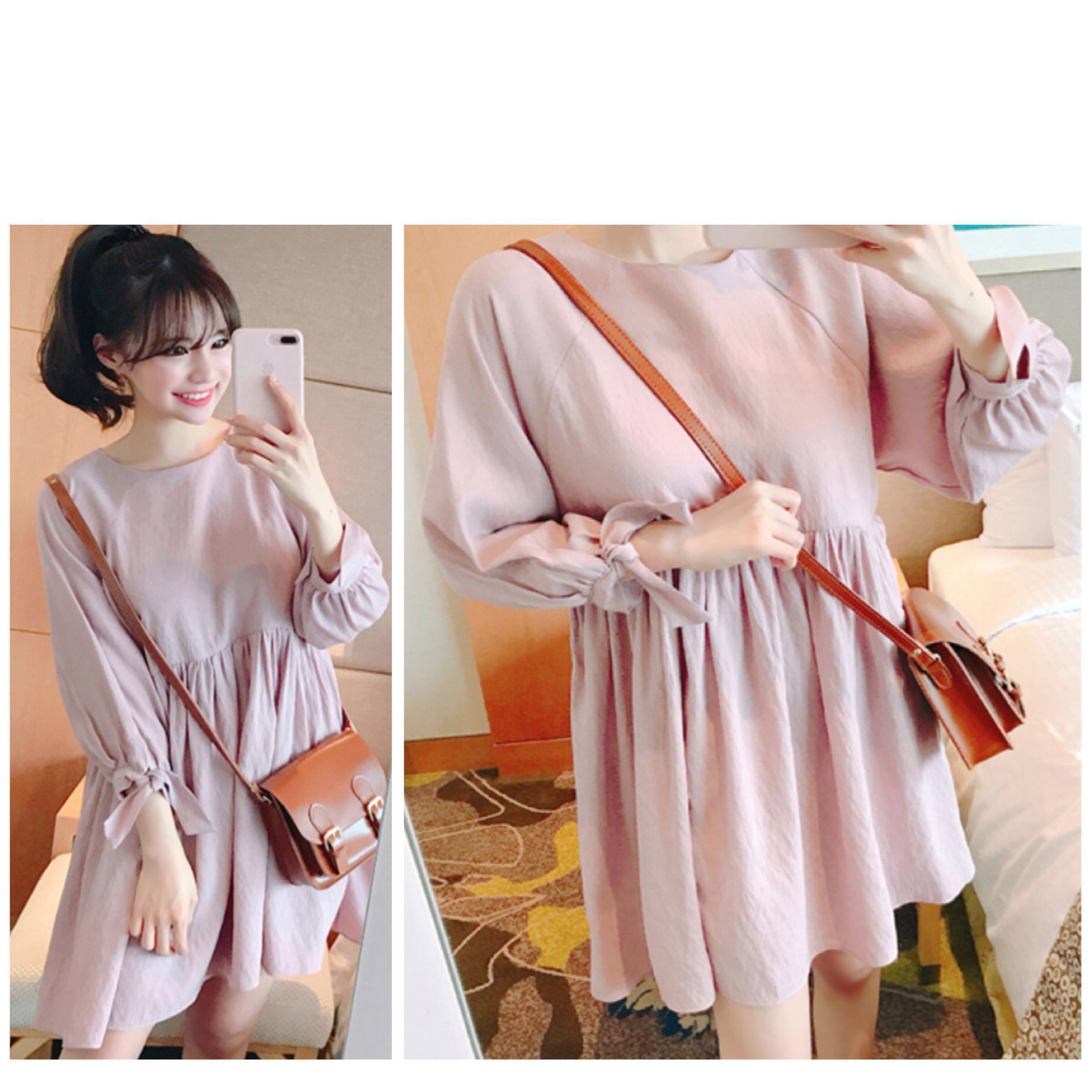 bd6489d3925 ✨BNIB BNWT Korean Babydoll Dress with Long sleeves ✨Lovely Sweet ...