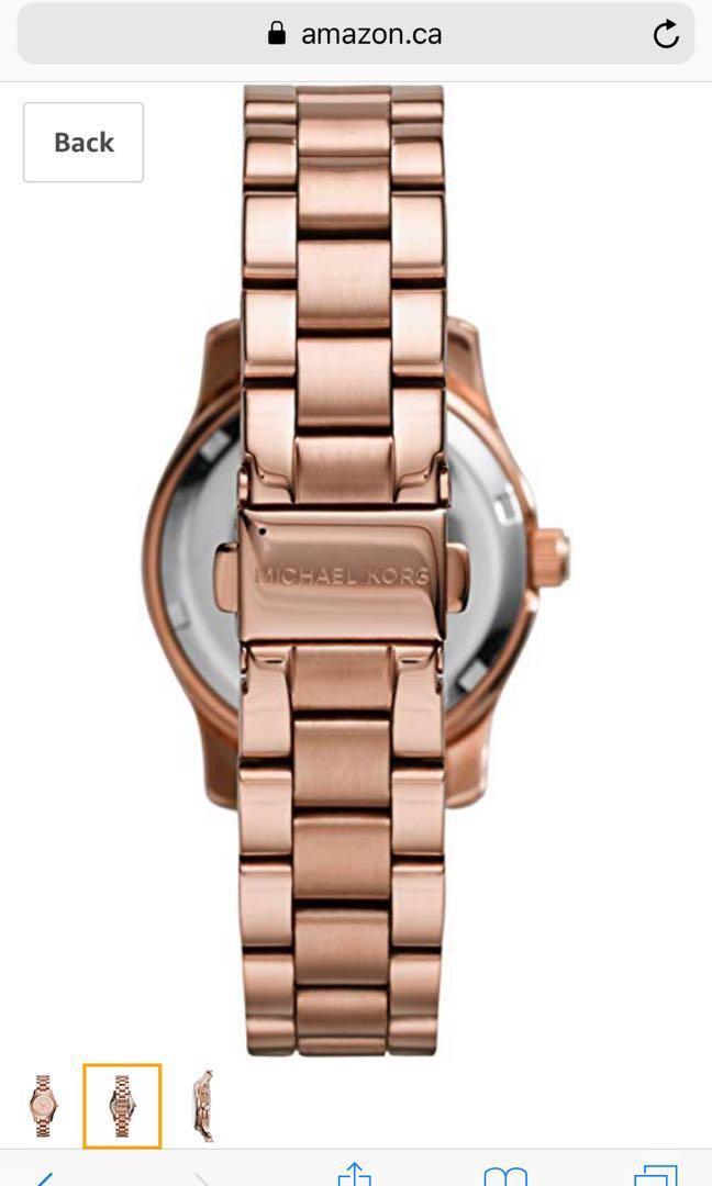 Brand New Michael Kors Rose Gold Watch