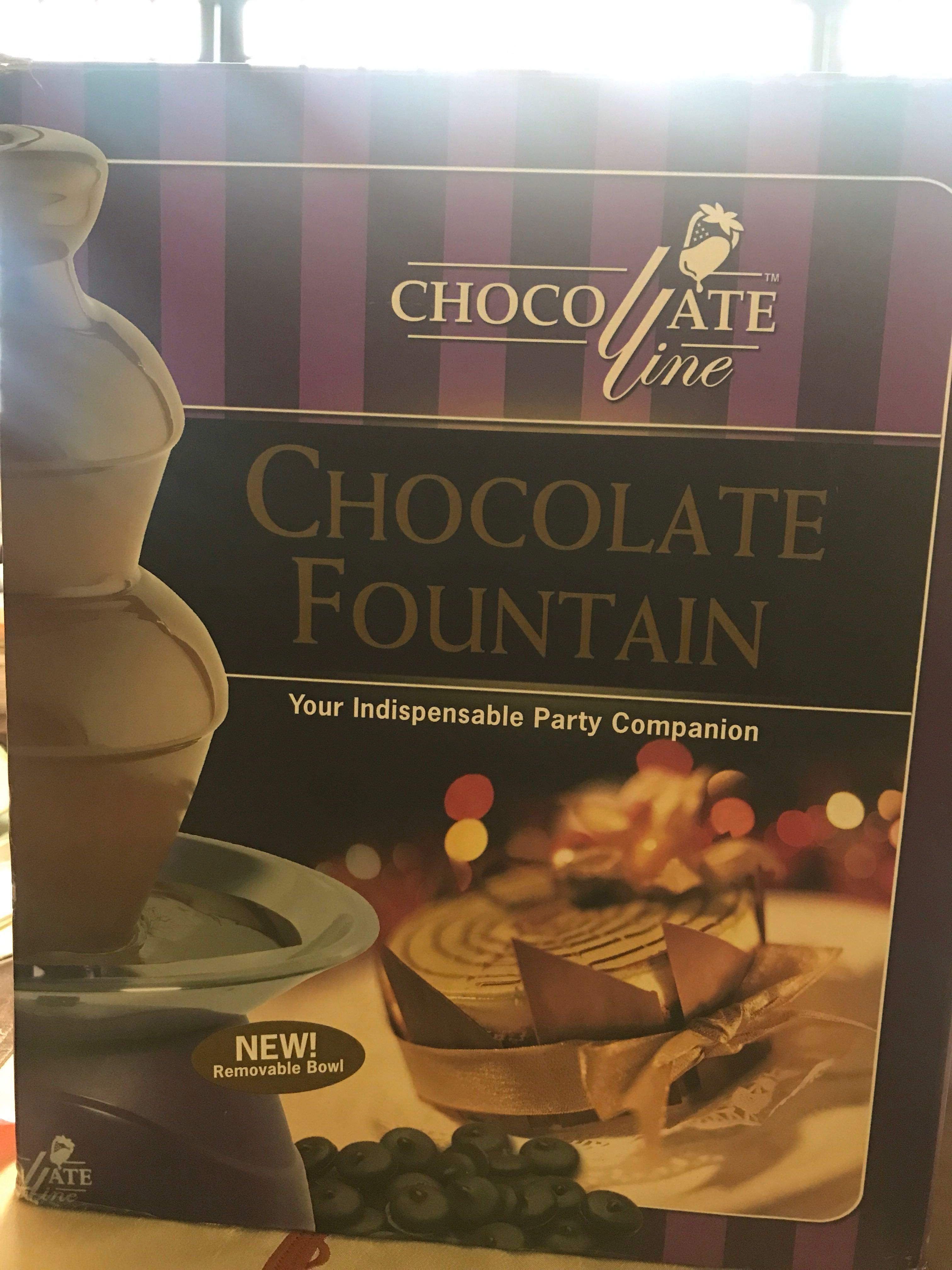 Chocolate Fountain for Rent!