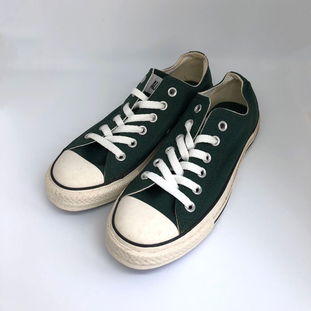 cc67f46d36d8d4 Converse Unisex Sneakers Low Top (Dark Green Colour)