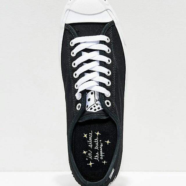 786a17b553d1 Converse x Illegal Civilization Jack Purcell Pro Black   White Shoes ...