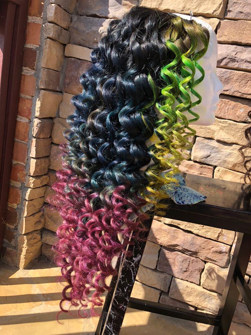 Custom made upart wig